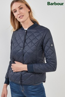 Barbour® Navy Applecross Quilt Jacket