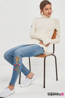 Superdry Embroidered Alexia Jeggings