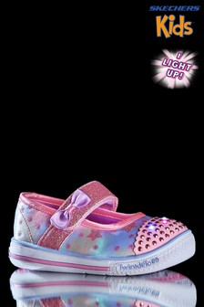 Skechers® Sparkle Lite Metallic Trainer