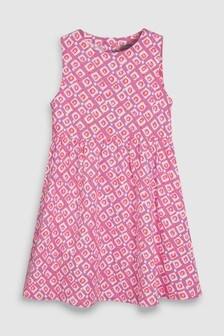 Linen Blend Dress (3-16yrs)