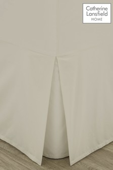 Catherine Lansfield Percale Base Valance Sheet