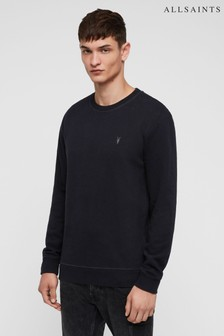 AllSaints Navy Raven Sweatshirt