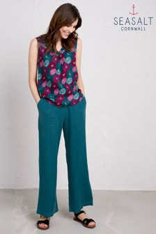 Seasalt Green Sea Rocket Trouser