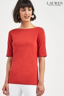 Lauren Ralph Lauren® Red Judy Top