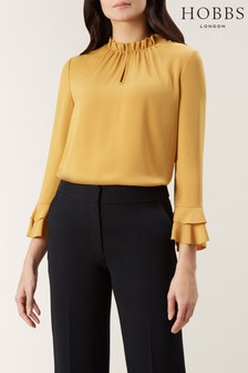 Hobbs Yellow Misha Top