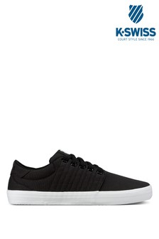 K•Swiss Black Backspin Trainer