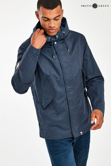 Pretty Green Navy Cooper Jacket