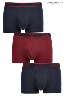 Emporio Armani Eagle Trunks 3 Pack