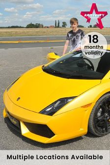 Junior Lamborghini Thrill Gift Experience by Activity Superstore