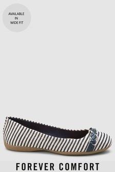 Forever Comfort® Chain Ballerinas