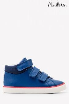 נעלי עור גבוהות של Boden, בצבע כחול