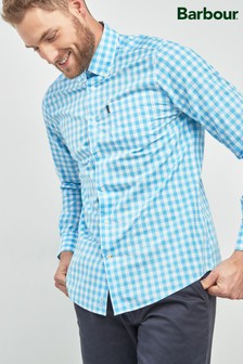 Barbour® Blue Gingham Check Shirt