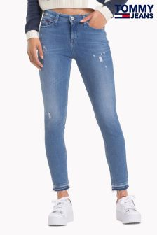 Tommy Jeans Blue Nora Skinny Jeans