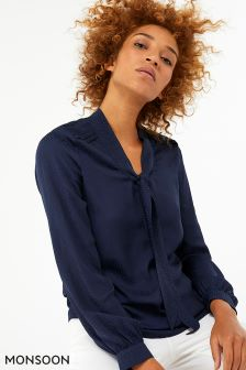 Monsoon Blue Leilani Blouse