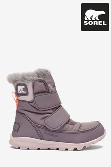 Sorel® Purple Childrens Whitney™ Strap Boots
