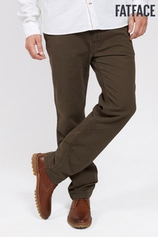 FatFace Green Modern Coastal Chino