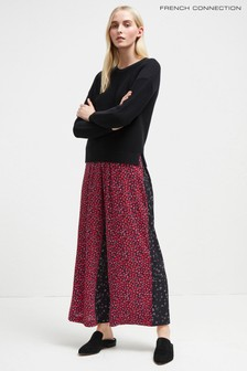 French Connection Pink Multi Culotte