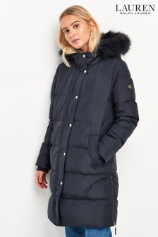 Lauren Ralph Lauren® NavyTonal Padded Down Coat
