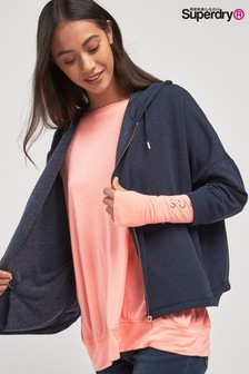 Superdry Navy Sports Hoody