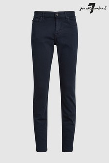 7 For All Mankind Skinny Fit Jeans mit Rinse-Waschung