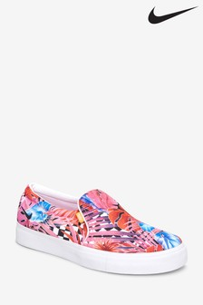 Nike Pink Floral Court Royale