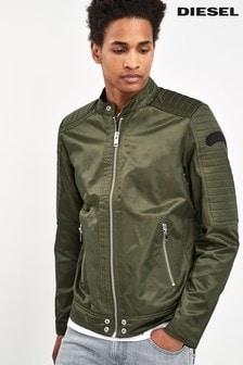 Diesel® Khaki Bomber Jacket