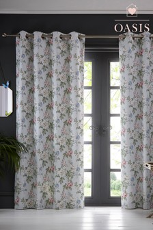 Oasis Bailey Eyelet Curtains
