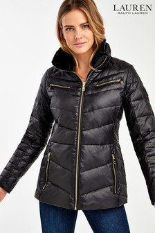 Lauren Ralph Lauren® Black Luxe Padded Down Jacket