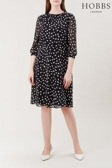 Hobbs Black Maeve Dress
