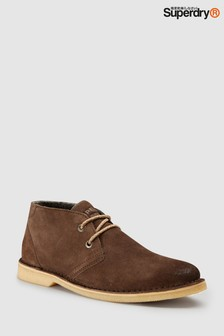 Superdry Brown Rallie Boot