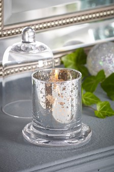 Snow Drop Cloche Candle