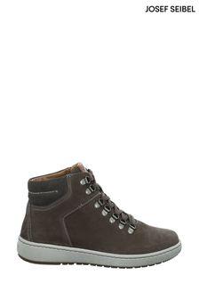 Josef Seibel Grey David Lace-Up Boots