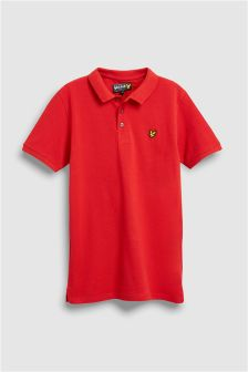 Lyle & Scott Red Classic Poloshirt