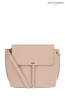 Accessorize Pink Aubrey Cross Body Bag