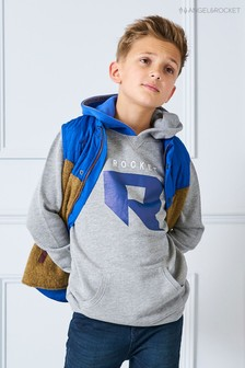 Angel & Rocket Grey Rocket Hoody