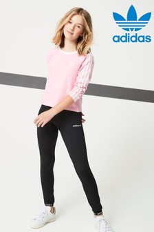 adidas Originals Black Poly Leggings