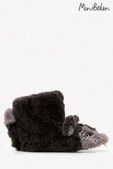 Boden Grey Wolf Slipper Boot