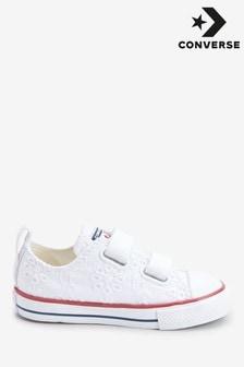 Converse嬰兒繡花Chuck運動鞋