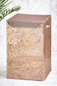 Sequin Laundry Hamper