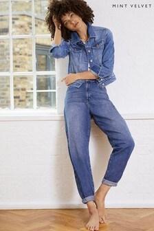 Mint Velvet Hudson Indigo Slouchy Jeans