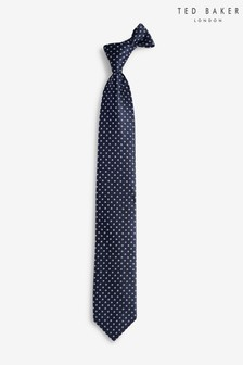 Ted Baker Navy Spotted Tie