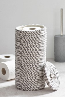 Woven Toilet Roll Holder