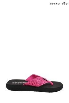 Rocket Dog Pink Spotlight Lima Slip-On Sandals