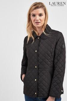 Lauren Ralph Lauren® Black Quilted Blazer Jacket