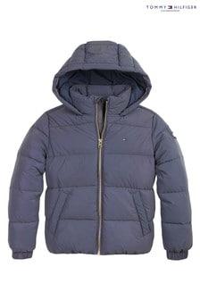 Tommy Hilfiger Blue Icons Unicorn Reflective Padded Jacket
