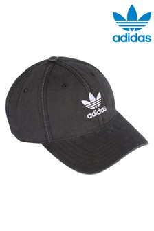 adidas Originals Black Acid Wash Cap