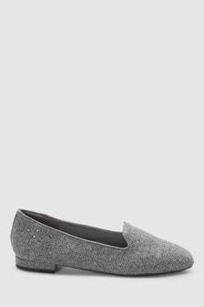 Chaussures à enfiler pailletées