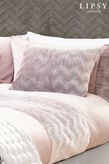 Plisowana poduszka Lipsy z motywem fal