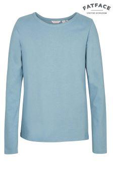 FatFace Pretty Aqua Plain T-Shirt