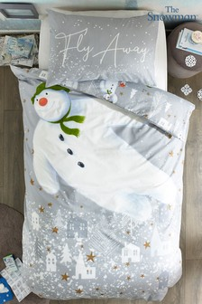 The Snowman Duvet Cover and Pillowcase Set